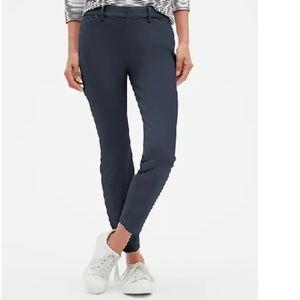 NWT Gap Signature Skinny Ankle Khakis 6 Blue c744
